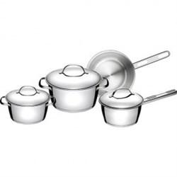 Набор посуды Tramontina 65660 336-TR Allegra 3+1 пр. - фото 6198