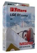 Пылесборник Filtero LGE 01 (4) ЭКОНОМ