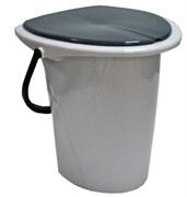Ведро ПЦ 30001 для туалета 17л. мраморный