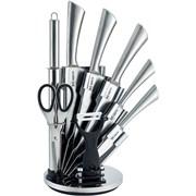 Набор ножей RAINSTAHL RS-8006-09/  9предметов на подставке