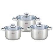 Набор посуды RAINSTAHL RS-1642-06/ 6предметов / 5-шаговое дно