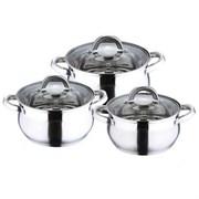 Набор посуды Wellberg WB-1409 6 предметов
