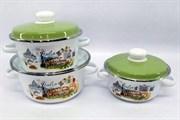 Набор посуды Idilia I93 3 предмета Римские каникулы