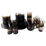 Набор столовый BASILICO дымка 62077 40 предметов