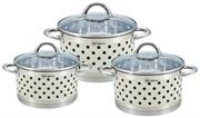 Набор посуды RAINSTAHL Cream RS\CW-1626-06 6 предметов капсульное дно