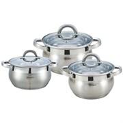 Набор посуды RAINSTAHL RS\CW -1627-06 6 предметов 5-ти шаговое дно
