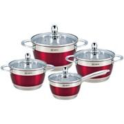 Набор посуды RAINSTAHL Red RS\CW-1818-08 8 предметов