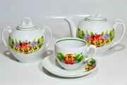 Сервиз чайный Добруш 14 предметов Гармония 6С2162 Фиалка