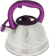 Чайник Appetite LKD-5130V со свистком 3,0л ручка силиконовая