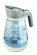 Чайник электрический Scarlett SC-EK27G38 молочно-серый