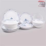Набор посуды MILLIMI Ариадна 818-545 опаловое стекло 19 предметов