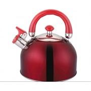 Чайник Appetite LKD-H063 со свистком 2.5л красный