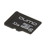 Карта памяти QUMO micro SDHC 32Gb Class10