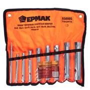 Набор трубчатых торцевых ключей ЕРМАК 650-005 9 предметов
