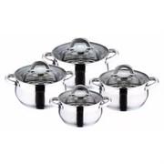 Набор посуды Wellberg WB-2330 8 предметов