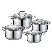 Набор посуды Wellberg WB-2340 8 предметов