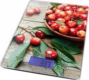 Весы кухонные Marta МТ-1633 розовая черешня