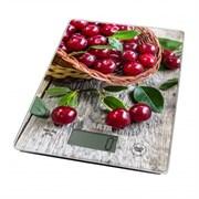 Весы кухонные Marta МТ-1634 садовая вишня