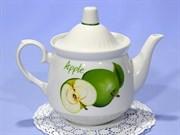 Чайник заварочный Добруш Кирмаш 7С1101  550мл.  Зеленое яблоко