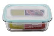 Контейнер Appetite SL1040RT  прямоугольная  1040 мл. стекло бирюзовый