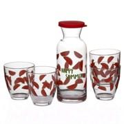Набор питьевой Pasabahce 95972 Jungle АРБУЗ 7 предметов
