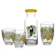 Набор питьевой Pasabahce 95972 Jungle ТУКАН 7 предметов