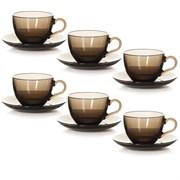 Набор чайный Pasabahce 97948 Броунз 12 предметов дымка