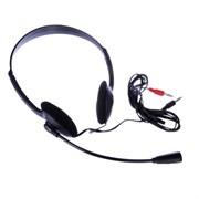 Наушники Forza 916-098 с микрофоном компьютерные 108±3dB 3.5 мм. 24 Ом