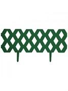 Забор декоративный  Ромб  999137 темно-зеленый
