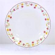 Тарелка Chinbull ЭЛЬЗАС OLHP-95/308 обеденная 24 см. стеклокерамика