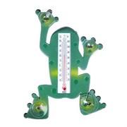 Термометр INBLOOM Лягушка 473-009 оконный  17.5х23.5 см