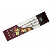 Набор шампуров ПИКНИЧОК 401-603 профильные толщина 1,5 мм 45 см ширина 1 см 6 штук