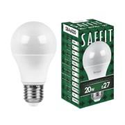 Лампа светодиодная SAFFIT SBA6020  55014 20W 230V E27 4000K,