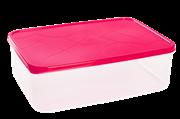 Контейнер для СВЧ ПЦ GR1852СМ Amore прямоугольный 2,5 л сладкая малина
