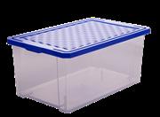 Ящик ПЦ Optima 2571 для хранения  12л Лего синий