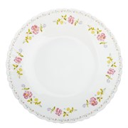Тарелка десертная MILLIMI Диана 818-096 19см опаловое стекло