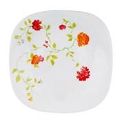 Тарелка десертная MILLIMI Дионис 818-078 21,5см опаловое стекло