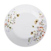 Тарелка десертная Бабочки 821-022  19 см