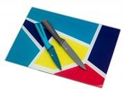 Набор ножей Apollo Rainbow RNB-02 2 предмета с подставкой доской