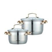 Набор посуды Bohmann BH 1902G  4 предмета