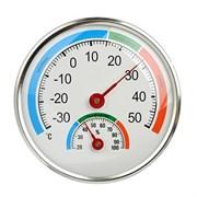 Термометр INBLOOM 473-054 круглый измерение влажности