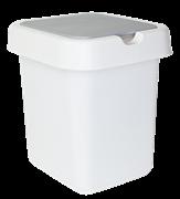 Контейнер для мусора Svip Квадра SV4042  9л белый