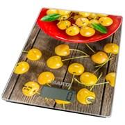 Весы Marta МТ-1634 кухонные желтая черешня