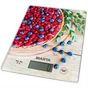 Весы Marta МТ-1634 кухонные ягодный пирог