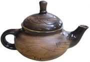 Чайник заварочный Борисовская керамика 0.4л Кроха младший КРАСНЫЙ КРС00000607