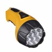 Фонарь ЧИНГИСХАН 198-073 аккумуляторный, 7 ярких LED вилка 220 В