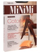 """Колготки женские MiNiMi """"COTONE 160"""" Nero 4-L"""