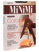 """Колготки женские MiNiMi """"COTONE 160"""" Nero 5-XL"""