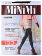 """Колготки женские MiNiMi """"MICROFIBRA 100"""" Nero 2-S"""
