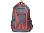 "Рюкзак для школы и офиса BRAUBERG ""SpeedWay 2"", 25 л, размер 46х32х19 см, ткань, серо-оранжевый, 224448"